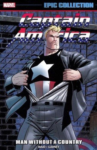 CAPTAIN AMERICA EPIC COLLECTION MAN WITHOUT A COUNTRY GRAPHIC NOVEL