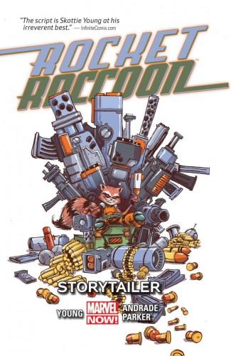 ROCKET RACCOON VOLUME 2 STORYTAILER GRAPHIC NOVEL