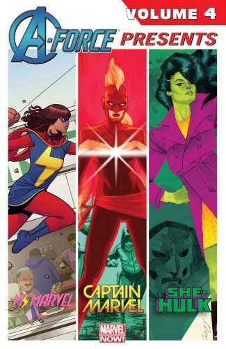A-FORCE PRESENTS VOLUME 4 GRAPHIC NOVEL