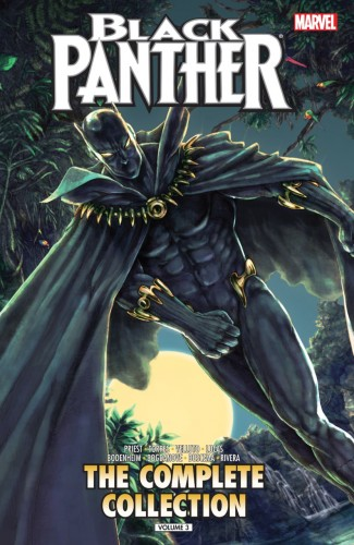 BLACK PANTHER BY PRIEST VOLUME 3 COMPLETE COLLECTION GRAPHIC NOVEL