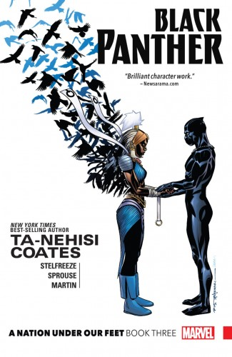 BLACK PANTHER BOOK 3 NATION UNDER OUR FEET GRAPHIC NOVEL