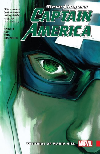 CAPTAIN AMERICA STEVE ROGERS VOLUME 2 THE TRIAL OF MARIA HILL GRAPHIC NOVEL
