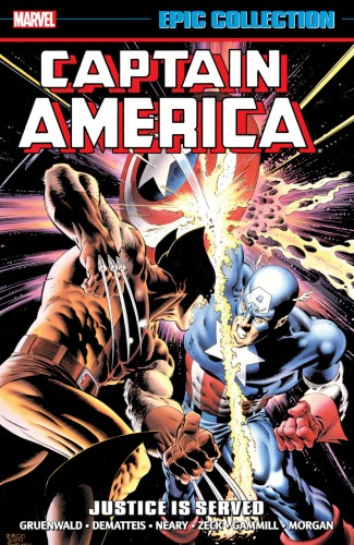 CAPTAIN AMERICA EPIC COLLECTION JUSTICE IS SERVED GRAPHIC NOVEL