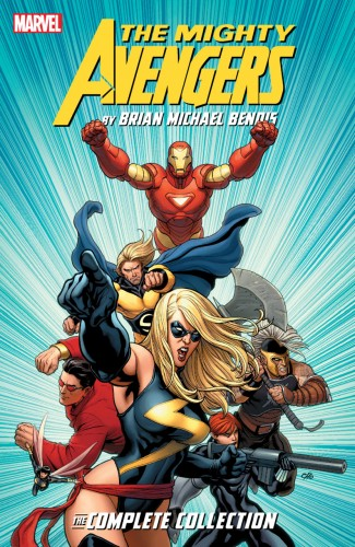 MIGHTY AVENGERS BY BENDIS COMPLETE COLLECTION GRAPHIC NOVEL