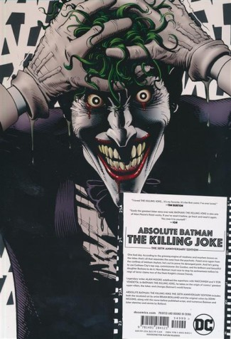 ABSOLUTE BATMAN THE KILLING JOKE HARDCOVER