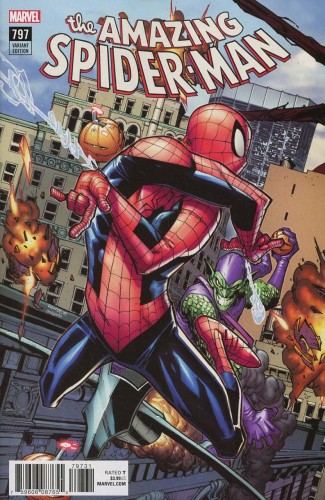 AMAZING SPIDER-MAN #797 (2015 SERIES) RAMOS CONNECTING VARIANT