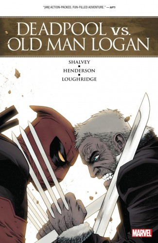 DEADPOOL VS OLD MAN LOGAN GRAPHIC NOVEL