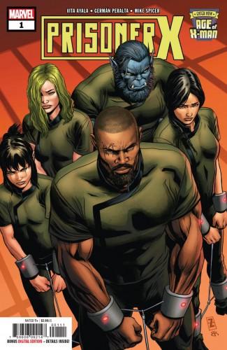 AGE OF X-MAN PRISONER X #1