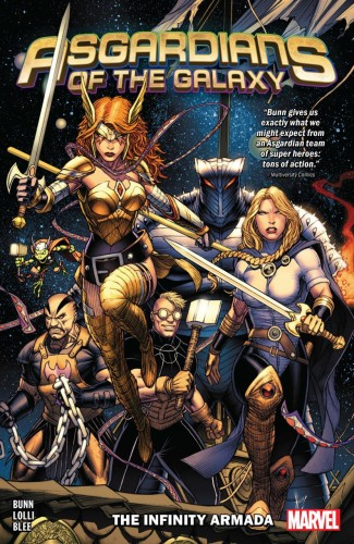 ASGARDIANS OF THE GALAXY VOLUME 1 INFINITY ARMADA GRAPHIC NOVEL
