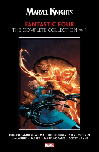MARVEL KNIGHTS FANTASTIC FOUR THE COMPLETE COLLECTION VOLUME 1 GRAPHIC NOVEL