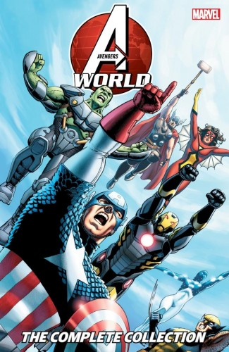 AVENGERS WORLD THE COMPLETE COLLECTION GRAPHIC NOVEL