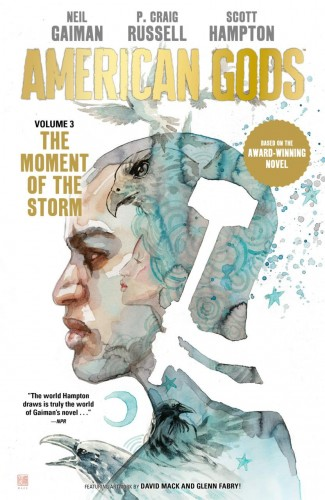NEIL GAIMAN AMERICAN GODS VOLUME 3 THE MOMENT OF THE STORM HARDCOVER