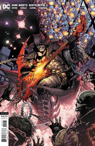 DARK NIGHTS DEATH METAL #1 DOUG MAHNKE 1 IN 25 VARIANT