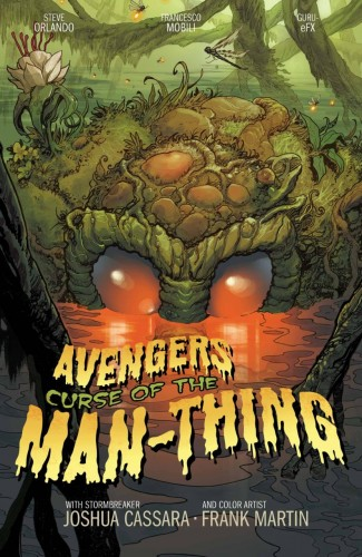 AVENGERS CURSE OF THE MAN-THING #1 CASSARA STORMBREAKERS VARIANT