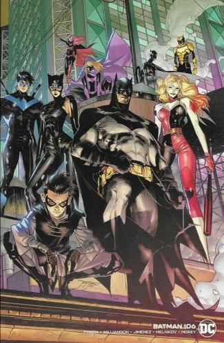 BATMAN #106 (2016 SERIES) WRAPAROUND COVER