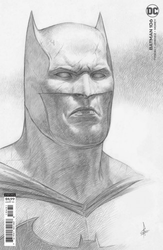BATMAN #106 (2016 SERIES) 1 IN 25 FEDERICI CARD STOCK INCENTIVE VARIANT