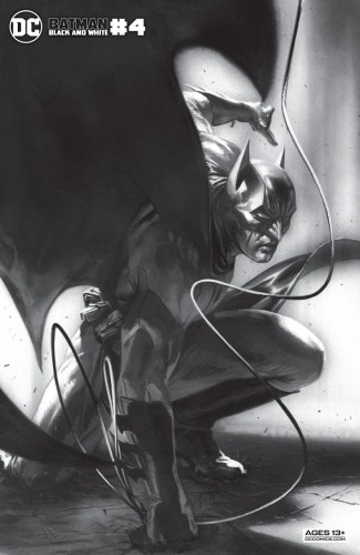 BATMAN BLACK AND WHITE #4 (2020 SERIES) GABRIELE DELLOTTO VARIANT