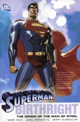 SUPERMAN BIRTHRIGHT GRAPHIC NOVEL