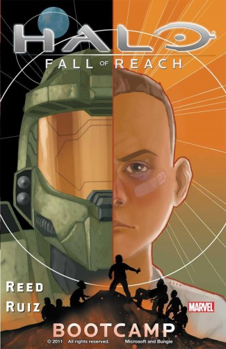 HALO FALL OF REACH BOOT CAMP GRAPHIC NOVEL