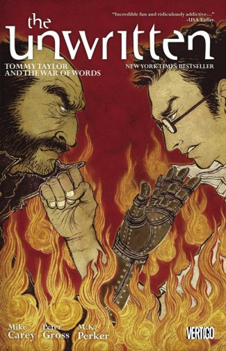 UNWRITTEN VOLUME 6 TOMMY TAYLOR WAR OF WORDS GRAPHIC NOVEL
