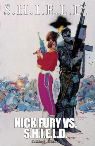 SHIELD NICK FURY VS SHIELD GRAPHIC NOVEL