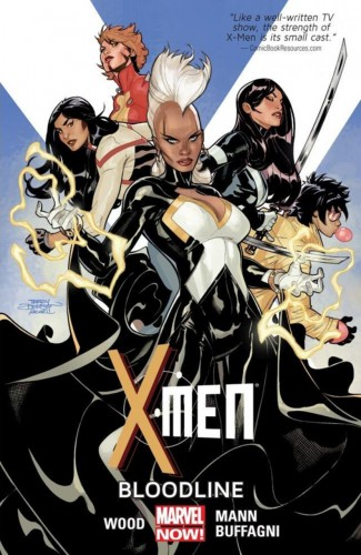 X-MEN VOLUME 3 BLOODLINE GRAPHIC NOVEL