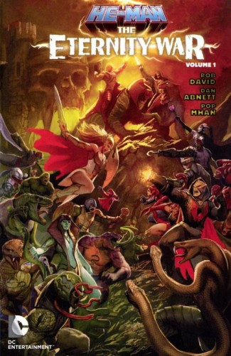 HE-MAN THE ETERNITY WAR VOLUME 1 GRAPHIC NOVEL