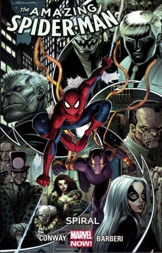 AMAZING SPIDER-MAN VOLUME 5 SPIRAL GRAPHIC NOVEL