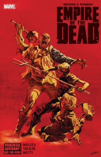 GEORGE ROMEROS EMPIRE OF THE DEAD HARDCOVER
