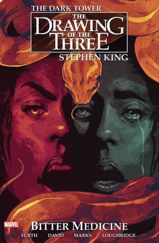 DARK TOWER THE DRAWING OF THE THREE BITTER MEDICINE GRAPHIC NOVEL