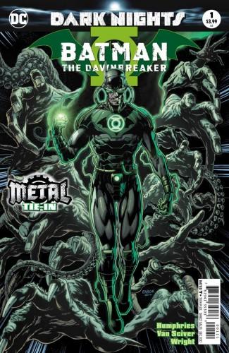 BATMAN THE DAWNBREAKER #1 FOIL COVER