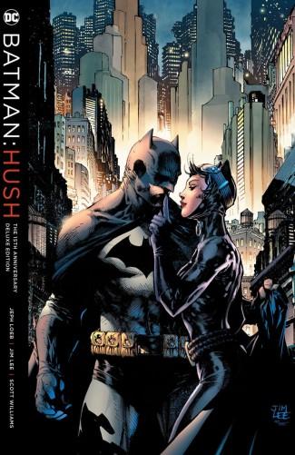 BATMAN HUSH 15TH ANNIVERSARY DELUXE EDITION HARDCOVER