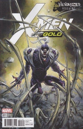 X-MEN GOLD #11 VENOMIZED OMEGA RED VARIANT