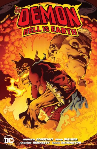 DEMON HELL IS EARTH GRAPHIC NOVEL