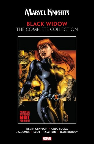 MARVEL KNIGHTS BLACK WIDOW BY GRAYSON AND RUCKA GRAPHIC NOVEL