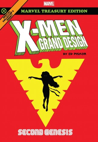 X-MEN GRAND DESIGN SECOND GENESIS GRAPHIC NOVEL