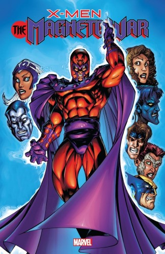 X-MEN MAGNETO WAR GRAPHIC NOVEL