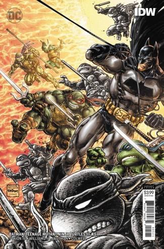 BATMAN TEENAGE MUTANT NINJA TURTLES III #5 VARIANT