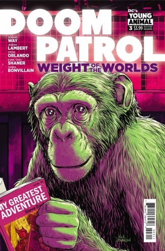 DOOM PATROL WEIGHT OF THE WORLDS #3