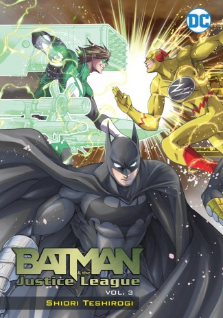 BATMAN AND THE JUSTICE LEAGUE MANGA VOLUME 3 GRAPHIC NOVEL