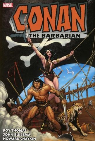 CONAN THE BARBARIAN THE ORIGINAL MARVEL YEARS OMNIBUS VOLUME 3 HARDCOVER