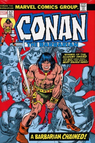 CONAN THE BARBARIAN THE ORIGINAL MARVEL YEARS OMNIBUS VOLUME 3 DM VARIANT HARDCOVER