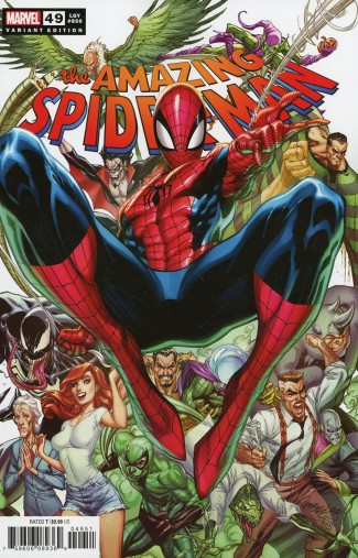 AMAZING SPIDER-MAN #49 (2018 SERIES) J SCOTT CAMPBELL VARIANT