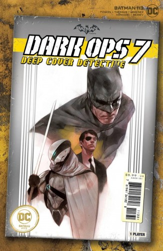 BATMAN #113 (2016 SERIES) OLIVER CARD STOCK 1 IN 25 INCENTIVE VARIANT