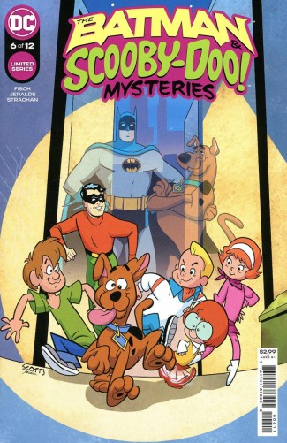 BATMAN AND SCOOBY DOO MYSTERIES #6