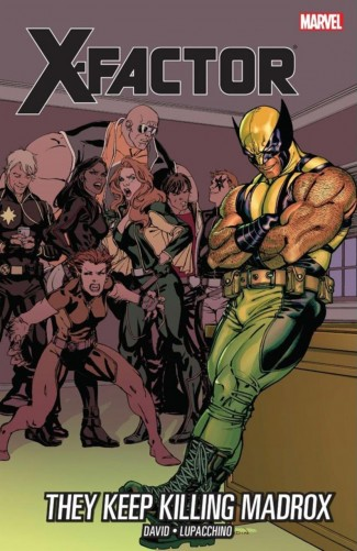 X-FACTOR VOLUME 15 THEY KEEP KILLING MADROX GRAPHIC NOVEL