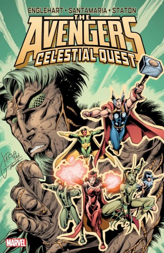 AVENGERS CELESTIAL QUEST GRAPHIC NOVEL