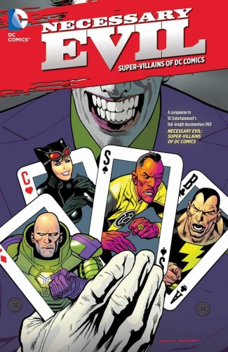 NECESSARY EVIL THE VILLAINS OF THE DC UNIVERSE GRAPHIC NOVEL