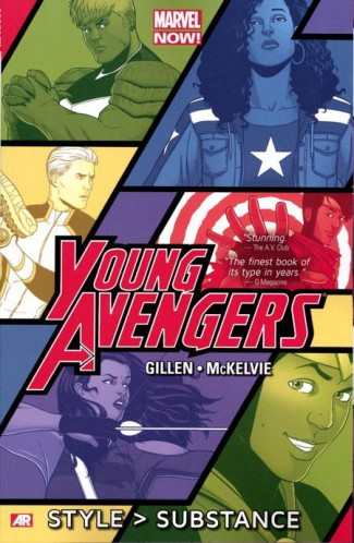 YOUNG AVENGERS VOLUME 1 STYLE SUBSTANCE GRAPHIC NOVEL