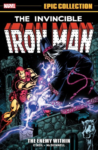 IRON MAN EPIC COLLECTION THE ENEMY WITHIN GRAPHIC NOVEL